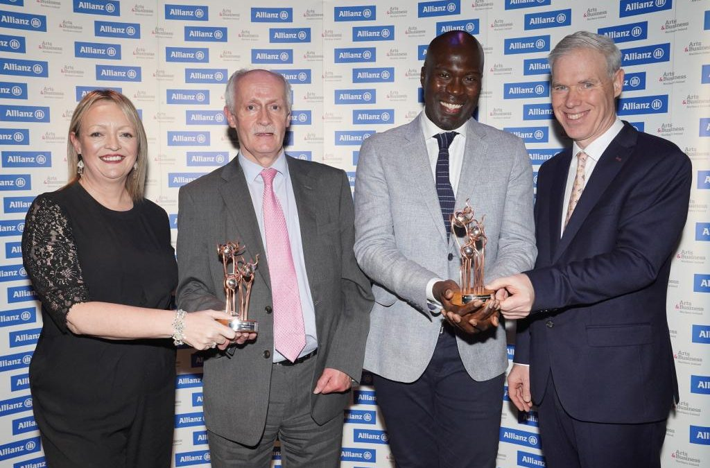 A Win at the Allianz Arts and Business Awards
